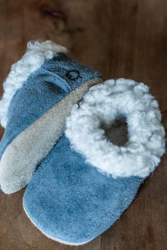 Eskimo bebé Azul
